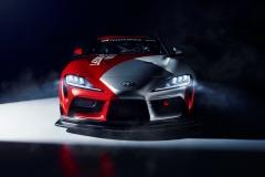2019_GR Supra GT4 Concept_headOn