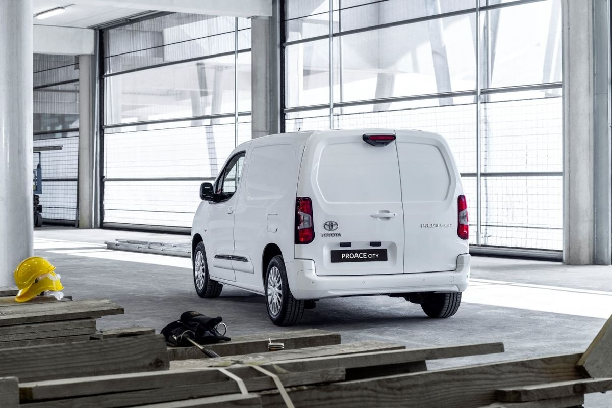 Toyota Proace City 2020 Toyota Proace City Is A Rebadged